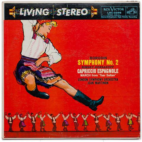 Borodin - Symphony No. 2 / Rimsky-Korsakoff - Capriccio Espagnole : Jean Martinon : LSO - SACD