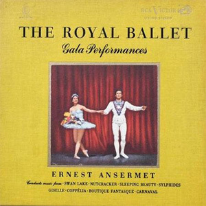 Ernest Ansermet - The Royal Ballet Gala Performances  - 200g 2LP  Box Set + Book