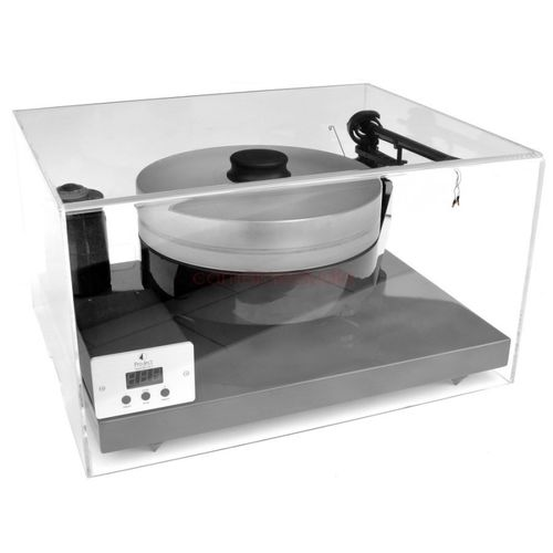Turntable Acrylic Dustcover + Isolation Platform ProJect Cover-IT1 /Ground-IT Carbon ( 52x42x29cm )