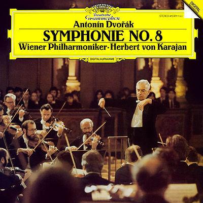 Dvorak - Symphony No. 8 : Herbert Von Karajan : Wiener Philharmoniker - 180g LP