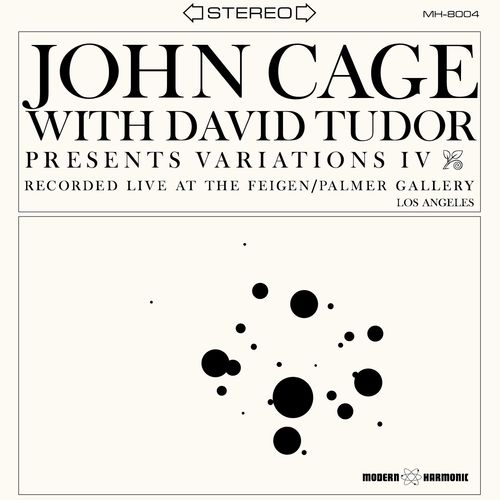John Cage With David Tudor - Variations IV  - LP