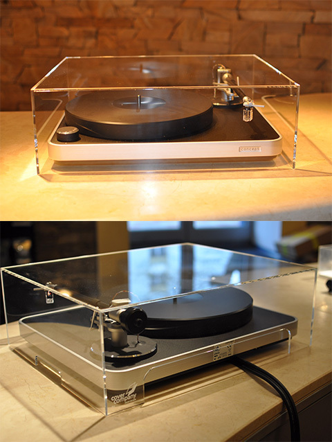 Well Tempered Simplex Turntable Acrylic Dust Cover ( 420 x 420 x 180 mm )