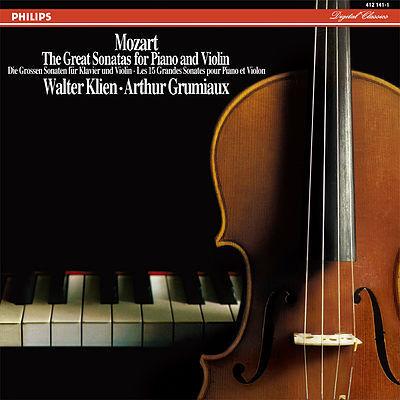 Mozart - The Great Sonatas For Piano and Violin :Walter Klien: Arthur Grumiaux - 180g 5LP Box Set