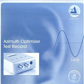 Clearaudio - Azimuth Optimizer Test Record - 180g LP