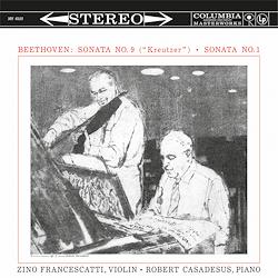 Beethoven - Sonata No. 9 / Kreutzer Sonata No. 1 : Zino Francescatti : Robert Casadesus - 180g LP