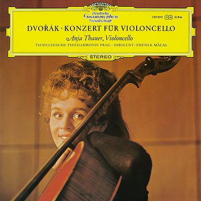 Dvorak - Cello Concerto : Anja Thauer : Zdenek Macal - 180g LP