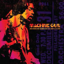 Jimi Hendrix - Machine Gun The Fillmore East First Show 12/31/1969 -  SACD