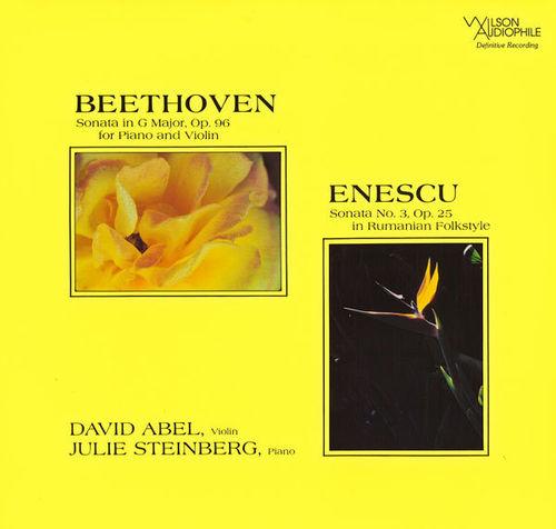Beethoven - Violin Sonata Op. 96 - Enescu Violin Sonata Op. 25 : David Abel, Julie Steinberg - SACD