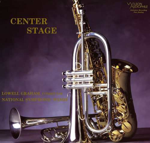 Lowell Graham & National Symphonic Winds - Centre Stage - SACD