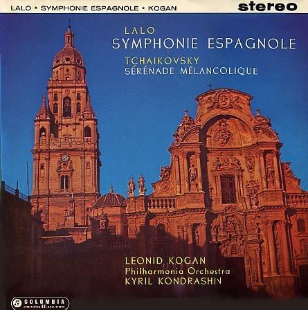Lalo / Tchaikovsky - Symphone Espagnole / Sérénade Mélancolique - Leonid Kogan - 180g LP