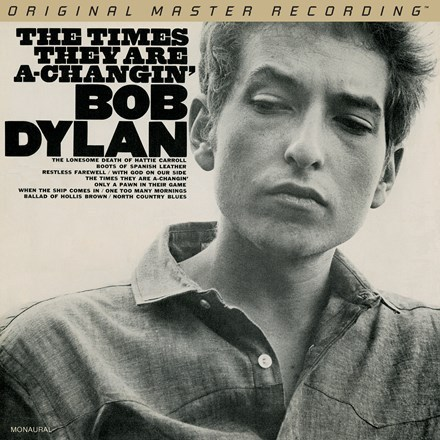 Bob Dylan - The Times They Are A Changing - 45rpm 180g 2LP Mono