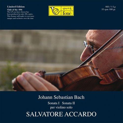Bach - Sonata I & Sonata II for Solo Violin : Salvatore Accardo - 180g LP
