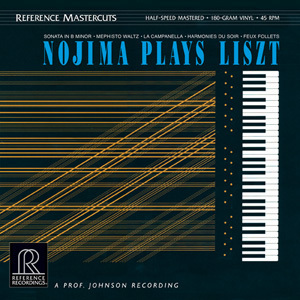 Minoru Nojima - Nojima Plays Liszt - 45rpm 200g 2LP