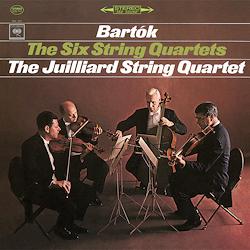Bartok -The Six String Quartets : Juilliard String Quartet - 180g 3LP Box Set