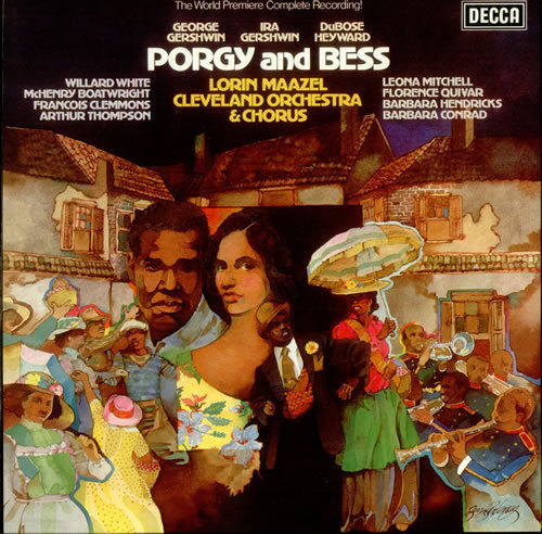 Gershwin - Porgy and Bess : Solisten, Lorin Maazel, Cleveland Orchestra/Chorus - 180g 3LP Box Set