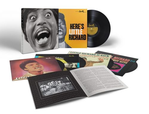 Little Richard - Mono Box: The Complete Specialty And Vee-Jay Albums - 140g 5LP Box Set Mono