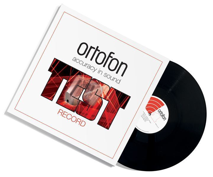 Ortofon Stereo Test Record - Test LP - 180g LP