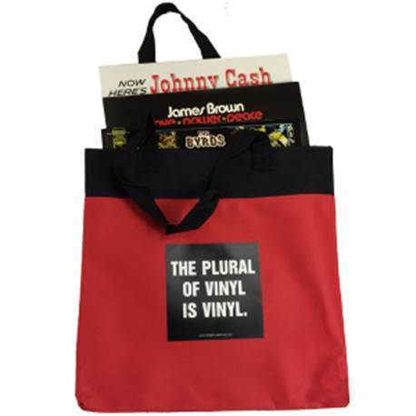 Record Bag - The Plural of Vinyl Is Vinyl
