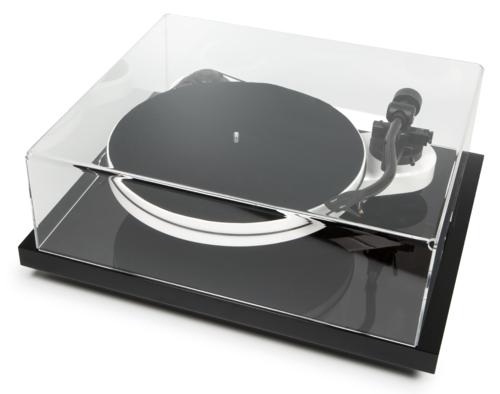 Pro-Ject Dust Cover  + Isolation Base - Ground-IT E + Cover-IT E  ( 471x331x103mm )