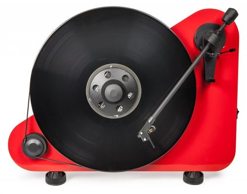 Pro-Ject VT-E BT Bluetooth Vertical Turntable - Wall or Table Mounted