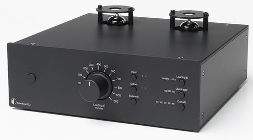 Pro-Ject Tube Box DS2 - MM/MC Valve Phono Stage