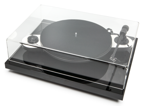 Pro-Ject Elemental Turntable / Dustcover / Ortofon OM5e