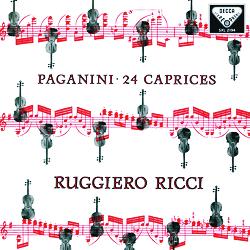 Paganini - 24 Caprices Op.1 - Ruggiero Ricci- 180g 2LP