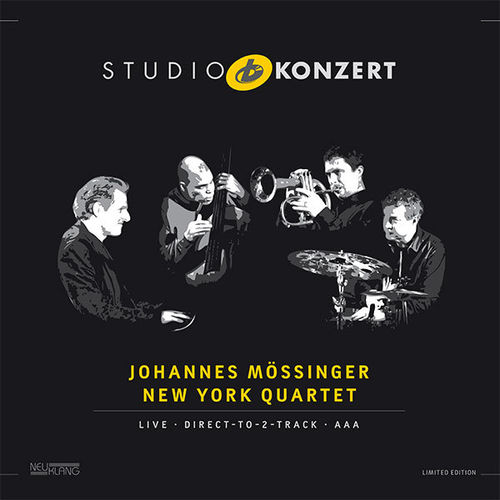 Johannes Mossinger New York Quartet -  Studio Concert - 180g LP
