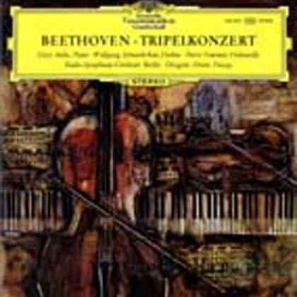 Beethoven - Triple Concerto op.56  :  Ferenc Fricsay   - 180g LP