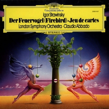 Stravinsky - Firebird : London Symphony Orchestra conducted by Claude Abbado. - 180g LP