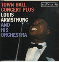 Louis Armstrong - Town Hall Concert Plus - 180g LP Mono