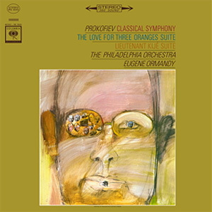 Prokofiev - The Love For Three Oranges Suite/ Lieutenant Kije Suite : Eugene Ormandy - 180g LP
