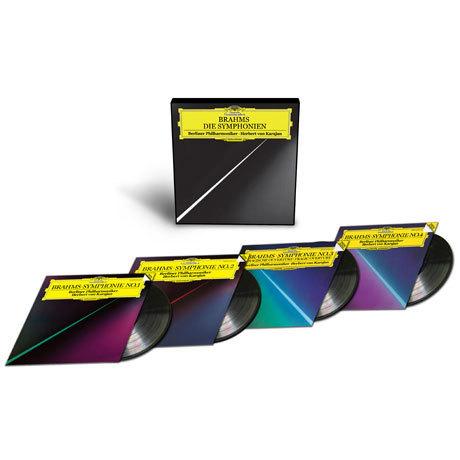 Brahms - Symphonies Nos. 1-4 (Die Symphonien) : Karajan : Berlin Philharmonic - 180g 4LP Box Set