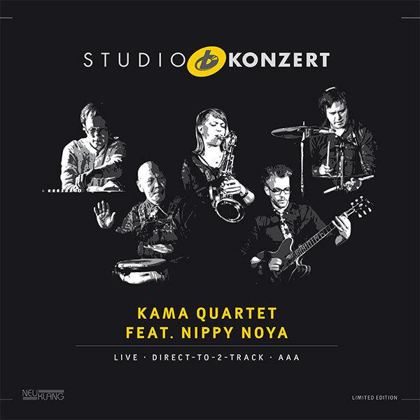 Kama Quartet (Katharina Maschmeyer Quartet): Feat Nippy Noya Studio Concert - 180g LP