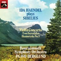Ida Haendel Plays Sibelius : Paavo Berglund : Bournemouth Symphony Orchestra - 180g LP