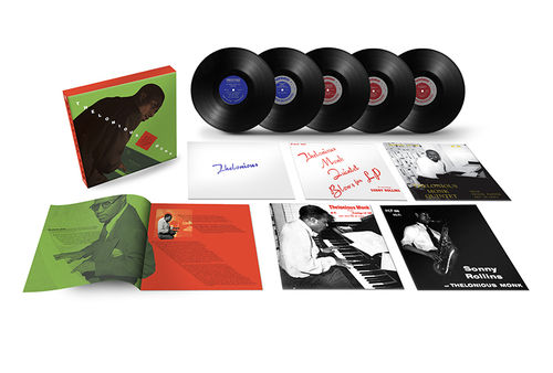 "Thelonious Monk - Complete Prestige 10"" Collection - 5LP Box Set"