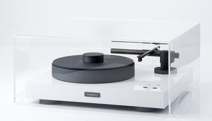 Bergmann Magne, Sindre , Sleipner Turntable Acrylic Dust Cover ( 550 x 550 x 250 mm )