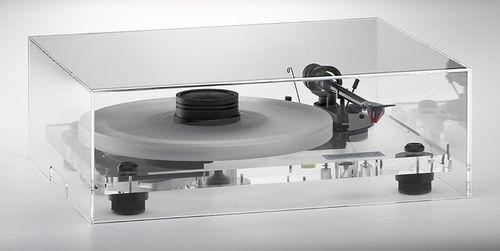 Turntable Acrylic Dust Cover ( 425 x 350 x 175 mm )