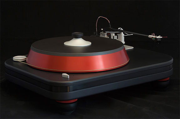 Spiral Groove Revolution Turntable Acrylic Dust Cover ( 550 x 425 x 225 mm )