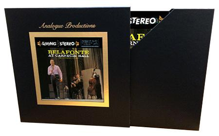Harry Belafonte - Belafonte At Carnegie Hall - 45rpm 200g 5LP Box Set