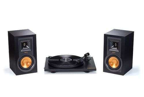 Klipsch R-15PM Active Speakers & Pro-Ject Primary Turntable Hifi System
