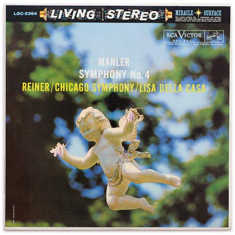 Mahler — Symphony No. 4 / Lisa Della Casa : Reiner, Chicago Symphony Orchestra - 200g LP