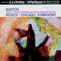 Bartok - Music For Strings / Hungarian Sketches : Fritz Reiner : Chicago Symphony - 200g LP