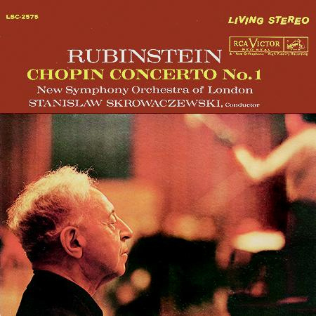 Chopin - Concerto No. 1 - Rubinstein • Skrowaczewski • New Symphony Orchestra Of London - 200g LP
