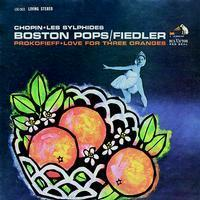 Chopin - Les Sylphides / Prokofieff  - Love For Three Oranges : Boston Pops :  Fiedler - 200g LP