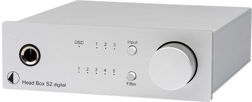 Pro-Ject Head Box S2 Digital  - Headphone Amplifier & DAC with 32bit and DSD256 support