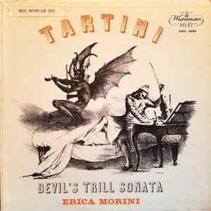 Tartini - Devil's Trill Sonata : Erica Morini , Leon Pommers - 180g LP Mono