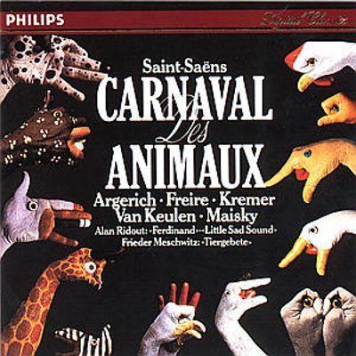 Saint-Saëns - Le Carnaval des Animaux : Martha Argerich - 180g 2LP