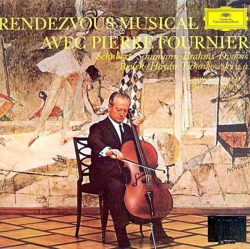 Pierre Fournier - Rendezvous Musical avec Pierre Fournier - 45rpm 180g 2LP