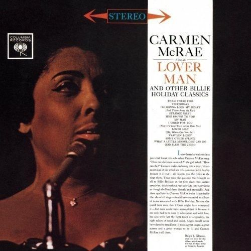 Carmen McRae - Sings Lover Man And Other Billie Holiday Classics - 180g LP